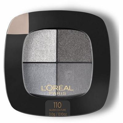 6 Pack - L'Oreal Colour Riche Eye Pocket Palette Eye Shadow, Silver Couture 0.1 oz