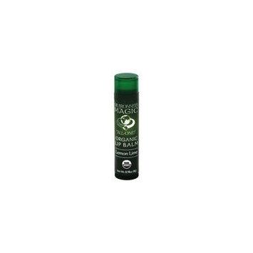 Dr. Bronners - Magic Organic Lip Balm Lemon Lime - 0.15 oz. (pack of 6)