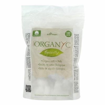 Organyc - Organic Beauty Cotton Balls - 100 Piece(s) (pack of 4)
