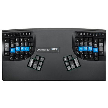 Kinesis Advantage2 QD KB600QD Ergonomic Keyboard for PC and Mac