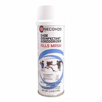 10-Seconds Deodorant & Disinfectant (Case of 12) by 10-Seconds