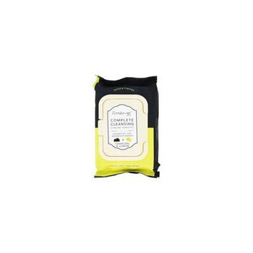 Complete Facial Cleansing Pre-Wet Towelettes Charcoal & Lemon - 30 Towelette(s) by The Creme Shop (pack of 12)