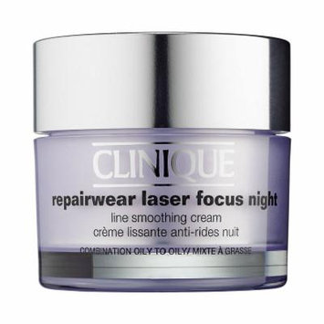 CLINIQUE Repairwear Laser Focus Night Line Smoothing Cream for Combination Oily to Oily Skin