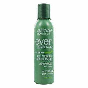 Alba Botanica - Natural Even Advanced Sea Elements Eye Makeup Remover - 4 oz. (pack of 4)