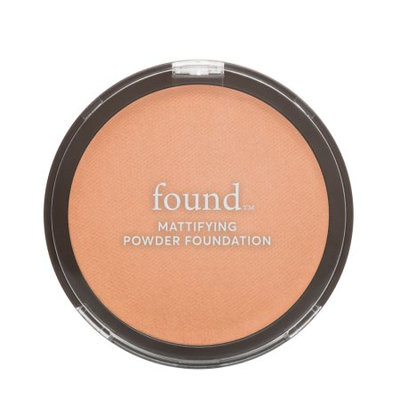 Hatchbeauty Products FOUND Mattifying Powder Foundation with Rosemary, 160 Tan, 0.28 fl oz