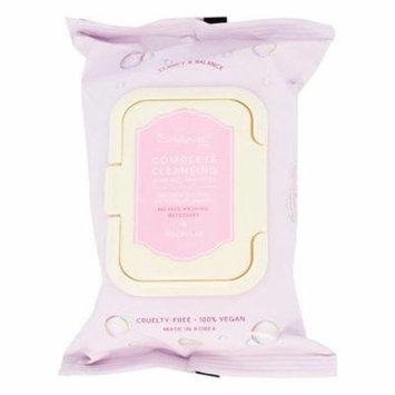 Complete Facial Cleansing Pre-Wet Towelettes Micellar - 30 Towelette(s) by The Creme Shop (pack of 12)