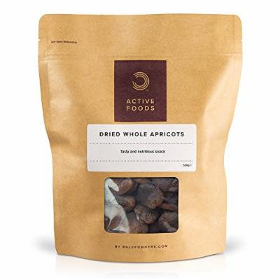 BULK POWDERS 500g Dried Whole Apricots