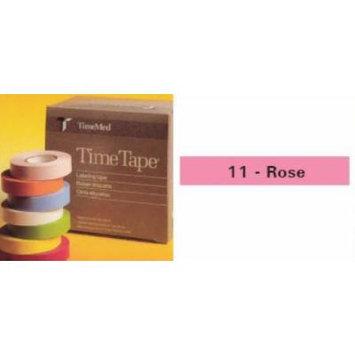 Precision Dynamic General Purpose Chart Label 1/2 X 500 Inch, Rose