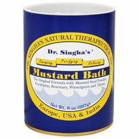 Mustard Bath - 8 oz. by Dr. Singha's Natural Therapeutics (pack of 3)