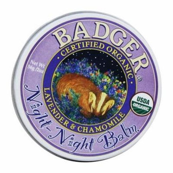 Night-Night Gentle Sleep Balm for Kids - 2 oz. by Badger (pack of 6)