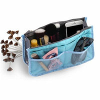 Multifunction Travel Cosmetic Makeup Bag for Outdoors Organizer Storage Handbag Polyester Rectangle Shape