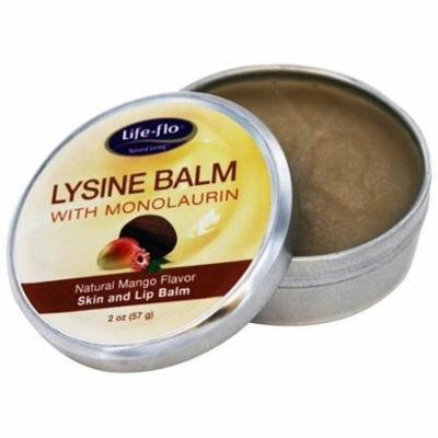 Lysine Skin & Lip Balm with Monolaurin Natural Mango - 2 oz. by Life-Flo (pack of 12)