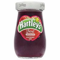 Hartley's Best Seedless Raspberry Jam 6 x 250g by Hartleys