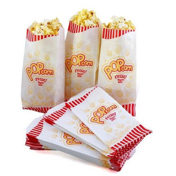 Great Northern Popcorn Popcorn Theater Paper Bags Quantity: 100 Bags