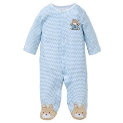 Little Me Baby Boys' 2-Piece Hat & Bear Coverall Set