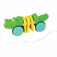 Windsor Click Clack Crocodile Pull Toy