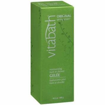 2 Pack - Vitabath Moisturizing Bath & Shower Gelee, Original Spring Green 10.50 oz
