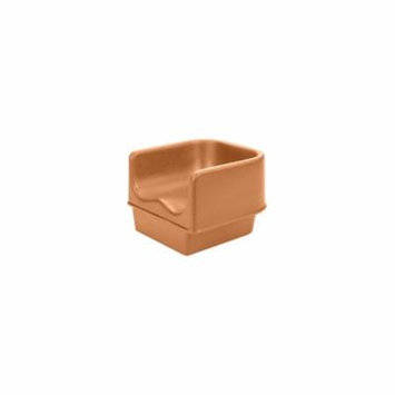 Cambro 100BC157 Coffee Beige Single Height Booster Seat without Strap