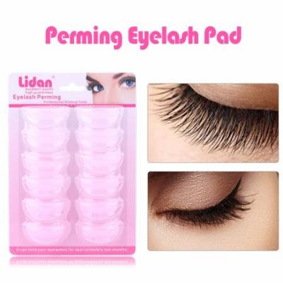 6Pairs Silicone Eyelash Perming Makeup Tools Eyelash Pad False Eyelash Root Lifting Shield Patch