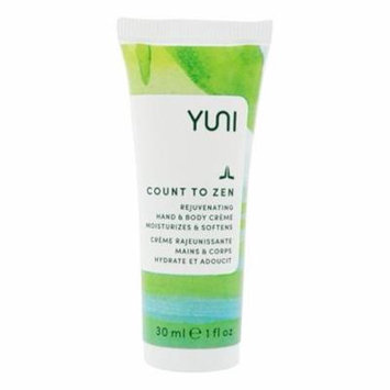 Count To Zen Rejuvenating Hand & Body Creme - 1 fl. oz. by Yuni (pack of 3)
