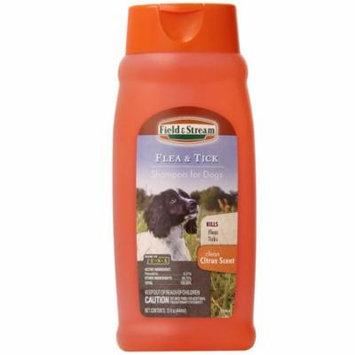 MFR DISCONTINUED 021216 Field Stream Flea Tick Shampoo for Dogs Citrus Scent 15 oz