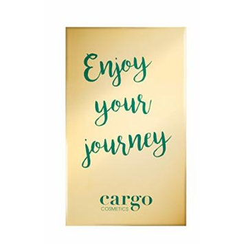 Cargo Enjoy Your Journey Travel Eyeshadow Palette Limited Edition, 0.1 lb.
