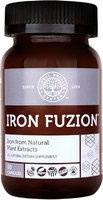 Global Healing Center Iron Fuzion All Natural Vegan Plant Based Iron Supplement 18 mg + Organic Thyme, Echinacea & Fulvic Acid