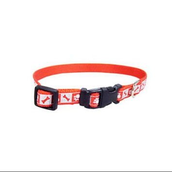Coastal Pet 46382 A RPS12. 38 inch Adjustable Reflective Nylon Collar, Red