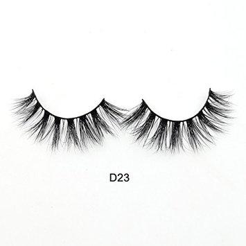 Visofree 3D Mink Lashes High Volume Mink Eyelashes Reusable Dramatic Eyelashes / False Eyelashes (D23)