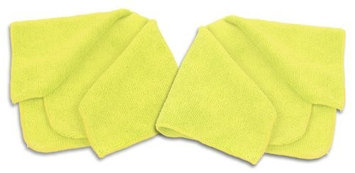 Fibermop 2 Piece 40x40cm Microfiber Cleaning Cloth Set, for Home, Car and Electronics.