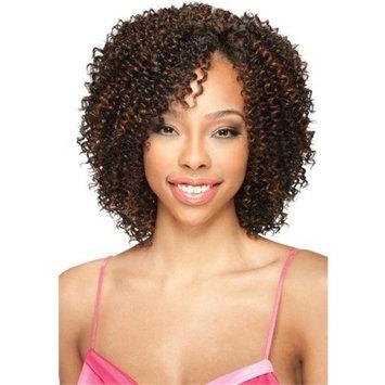 AQUA JERRY 3PCS (1 Jet Black) - Model Model Pose Pre-Cut Human Hair Mastermix Weave Extension