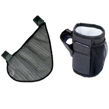 JL Childress Side Sling and Cup 'N Stuff Stroller Pocket Set