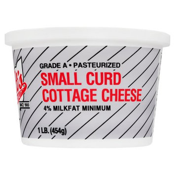 Toft's Dairy, Inc., Toft's Small Curd Cottage Cheese, 1 lb