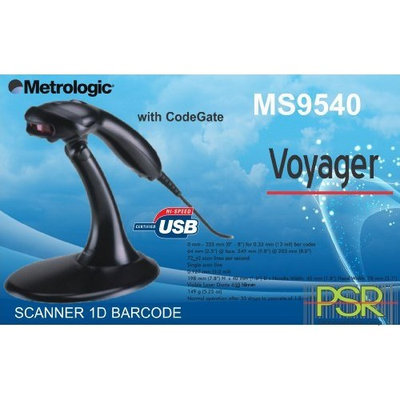 Barcode Scanner Metrologic Ms 9540 with Stand - Usb Cable - Black