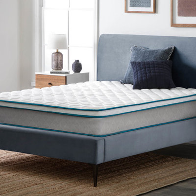 Lucid 9 Inch Nimble Innerspring Mattress with Individually Encased Coils