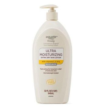 Equate Beauty Ultra Moisturizing Extra Dry Skin Lotion, 32 fl oz