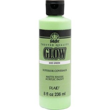 Plaid Enterprises Folkart Glow Green 8 oz