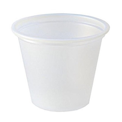 Fabri Kal Fabri-Kal 1oz Translucent Squat Portion Cup - 1 CS