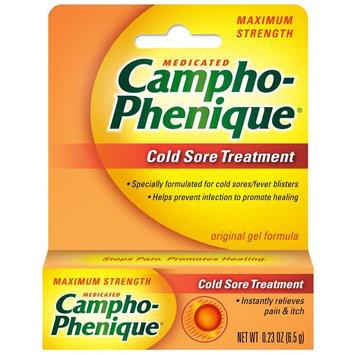Campho-Phenique Cold Sore Treatment, Maximum Strength, 0.23 Ounce [1]