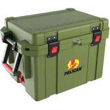 John Deere TS4006001WH32Q 32 qt Lit Cooler with Green & Yellow