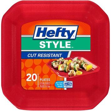 (4 Pack) Hefty Style Foam Plate, 10