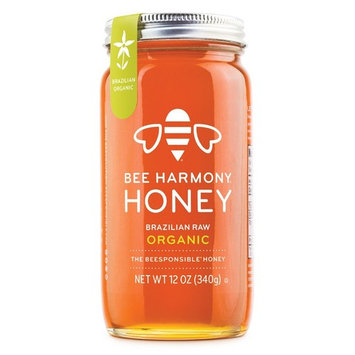 Bee Harmony Brazilian Raw Organic Honey, 12 Ounce [Organic]