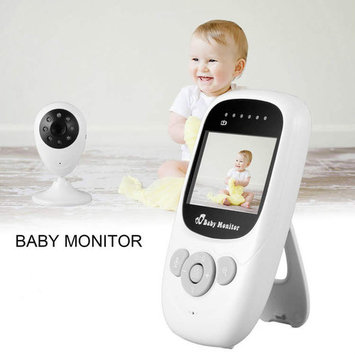 Safe&Sound 2.4GHz Wireless LCD Color Baby Monitor Camera Melody 2X Security