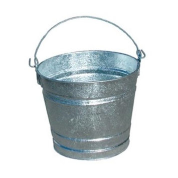MNL10QT - Magnolia Brush Galvanized Pail