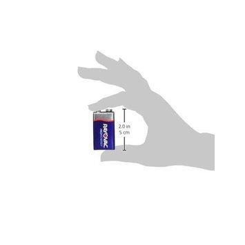RAYOVAC 9V 4-Pack HIGH ENERGY Alkaline Batteries, A1604-4K