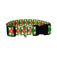 Yellow Dog Design CCHR103L Christmas Cheer Standard Collar - Large