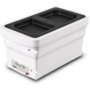 Thermal Spa Adjustable Heat Setting Paraffin Bath, White