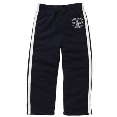 Osh Kosh Boys 2T-4T Fleece Pant (Navy 2T)