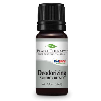 Plant Therapy Deodorizing Synergy Essential Blend Oil 10 mL (1/3 fl. oz.) 100% Pure, Undiluted, Therapeutic Grade