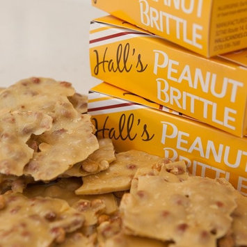 Hall's Milk Chocolate Covered Peanut Brittle, 1 Pound [Milk Chocolate Covered]